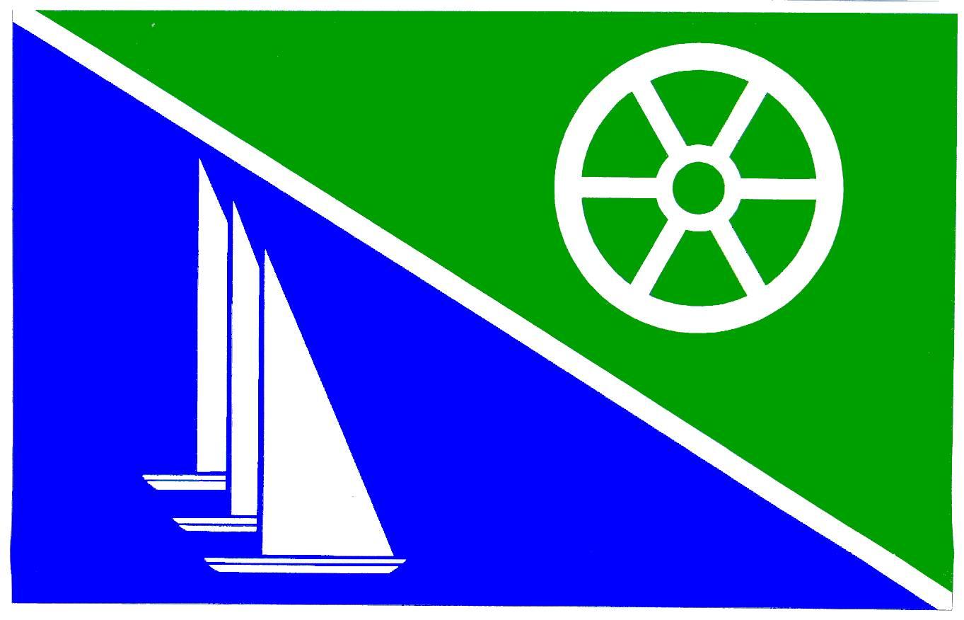 Flagge GemeindePogeez, Kreis Herzogtum Lauenburg