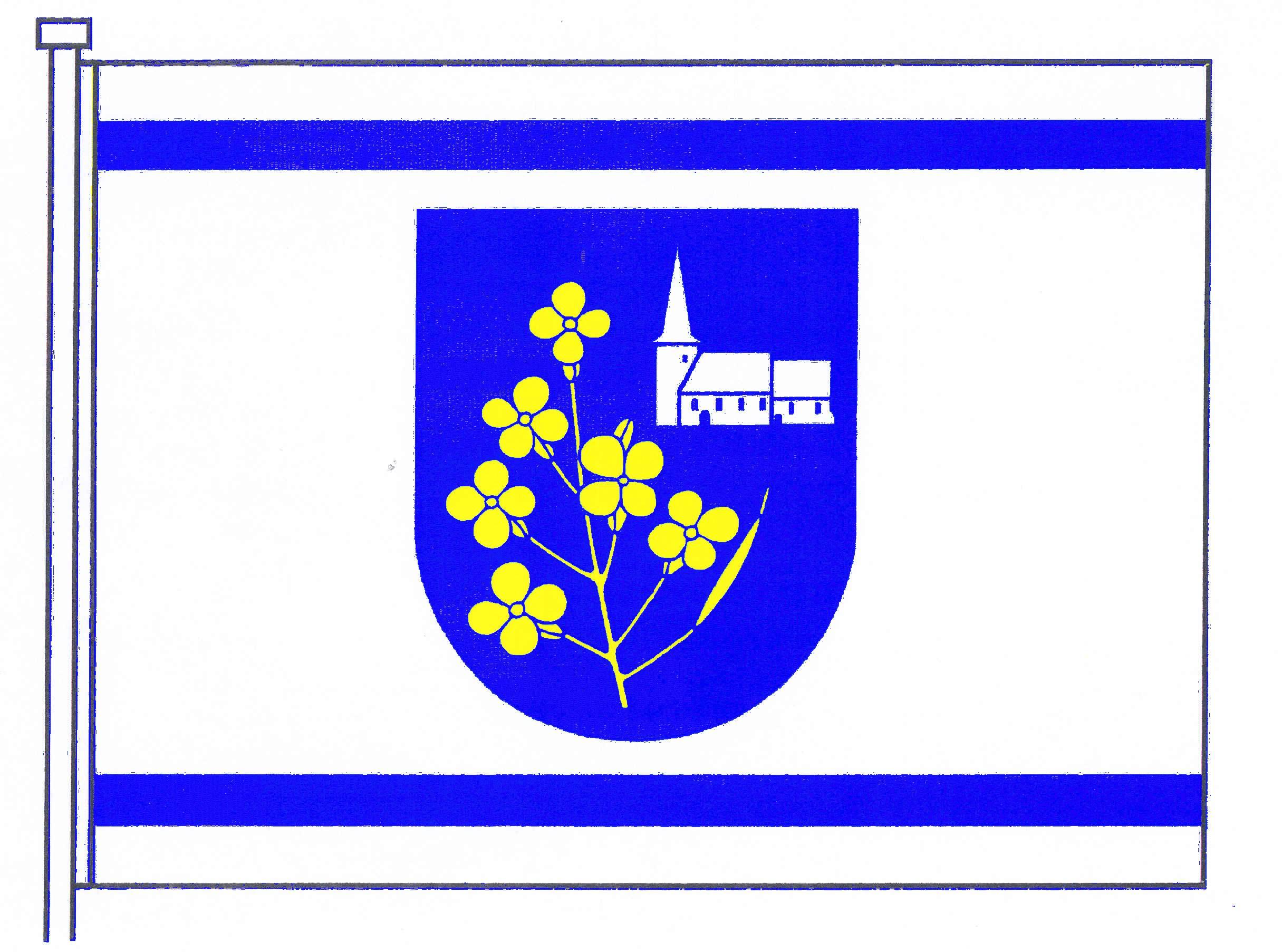 Flagge GemeindePronstorf, Kreis Segeberg