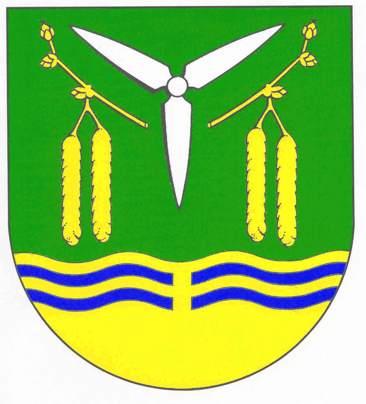 Wappen GemeindePuls, Kreis Steinburg