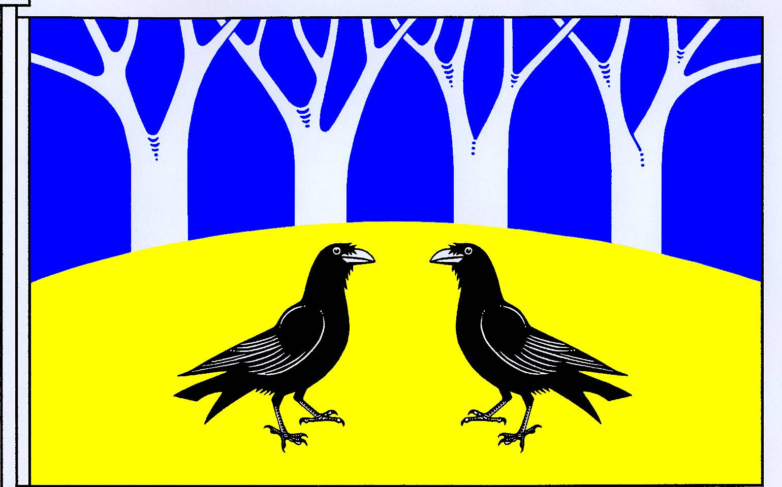 Flagge GemeindeRabenholz, Kreis Schleswig-Flensburg
