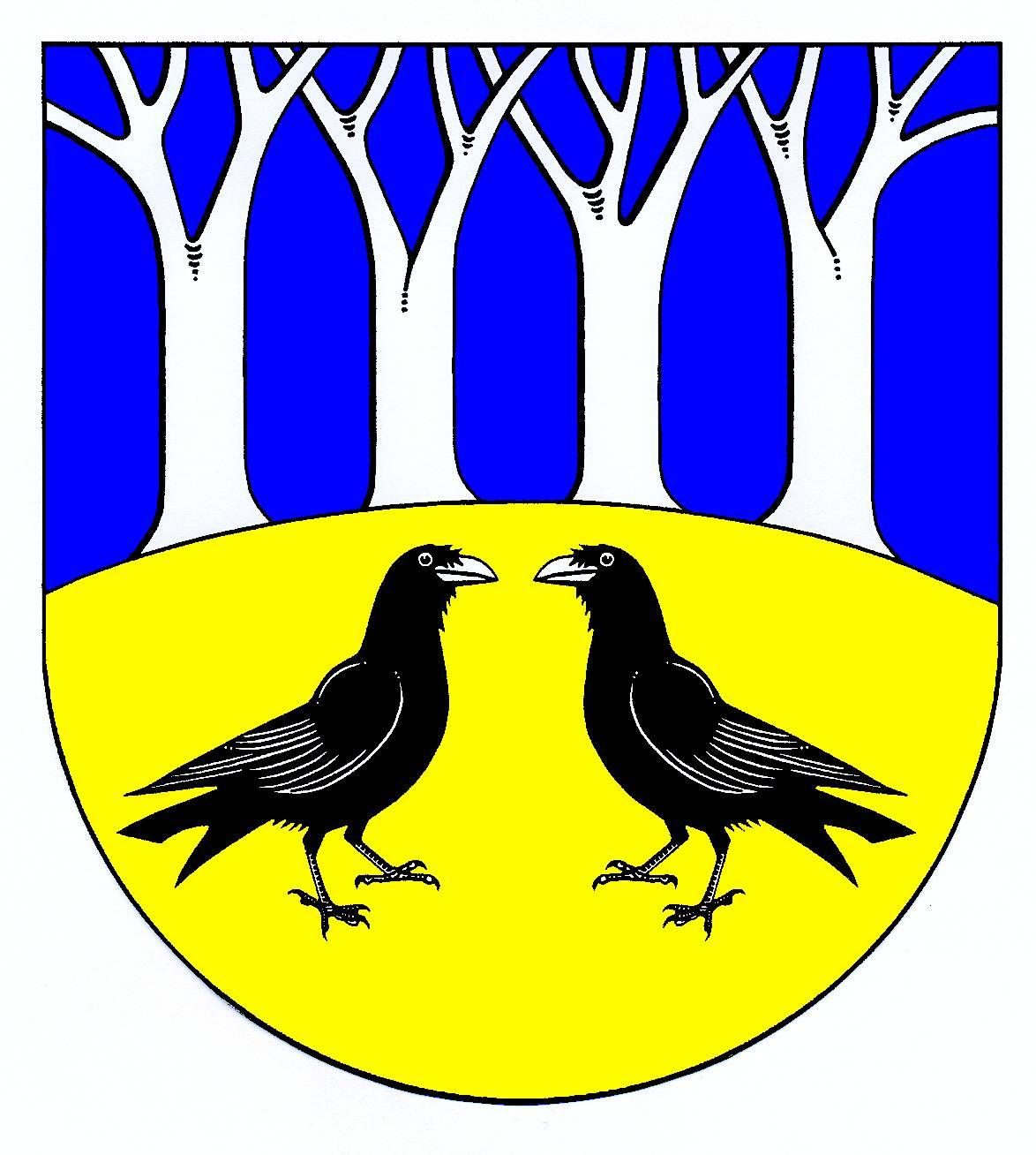 Wappen GemeindeRabenholz, Kreis Schleswig-Flensburg