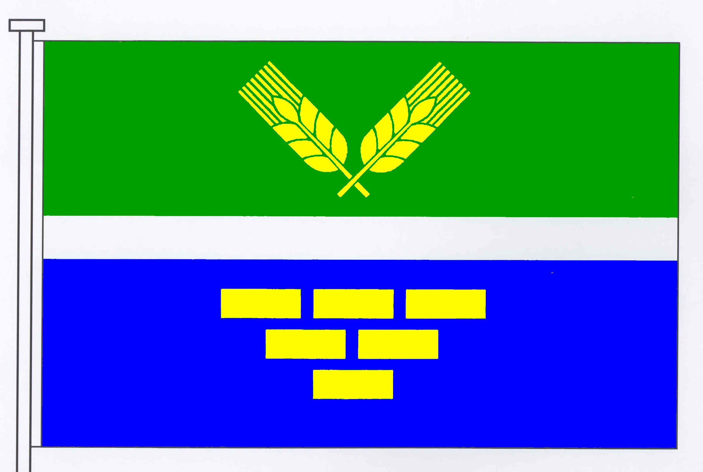 Flagge GemeindeRade, Kreis Rendsburg-Eckernförde
