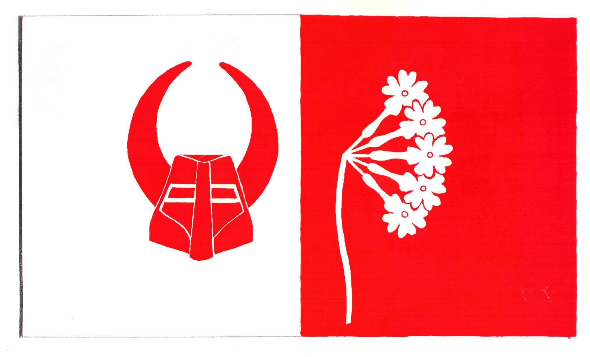 Flagge GemeindeRantzau, Kreis Plön