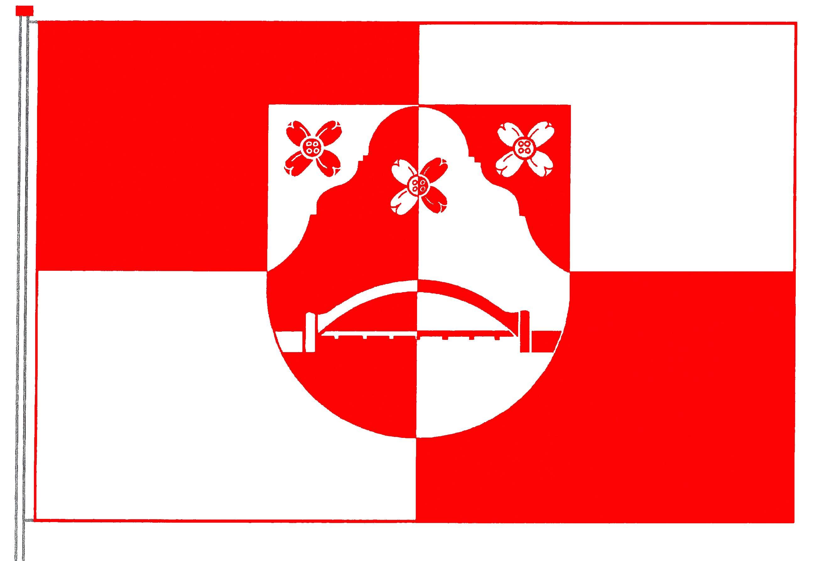 Flagge GemeindeRastorf, Kreis Plön