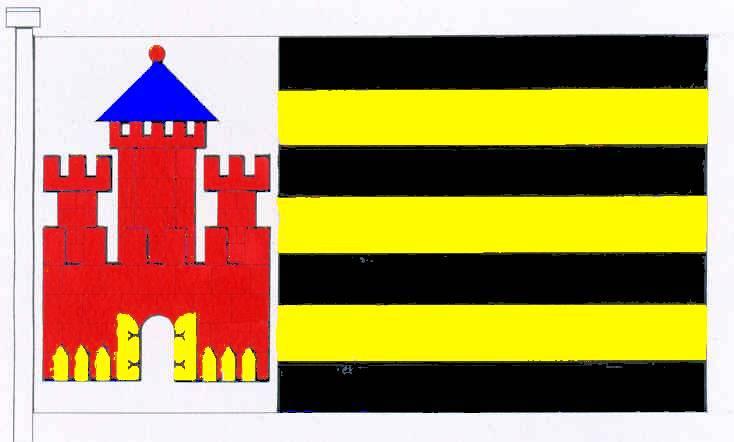 Flagge StadtRatzeburg, Kreis Herzogtum Lauenburg