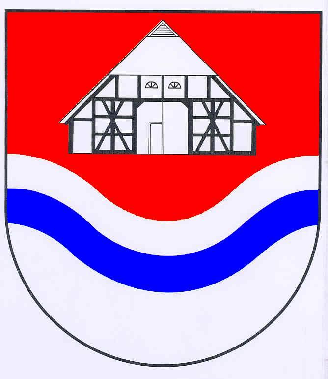 Wappen GemeindeRausdorf, Kreis Stormarn