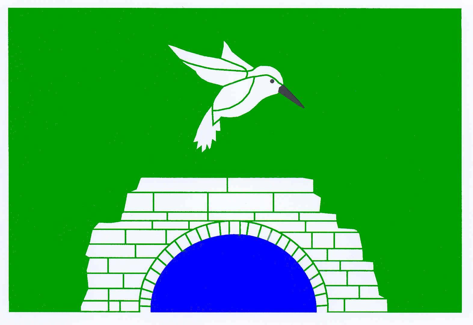 Flagge GemeindeReesdorf II, Kreis Rendsburg-Eckernförde