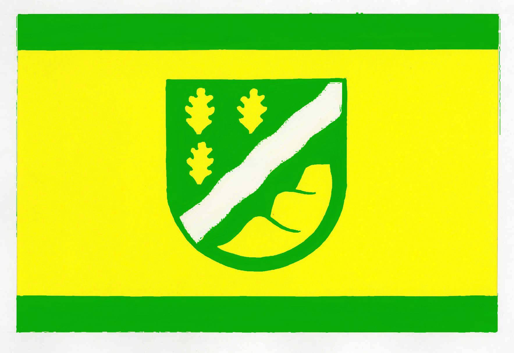 Flagge GemeindeRehm-Flehde-Bargen, Kreis Dithmarschen