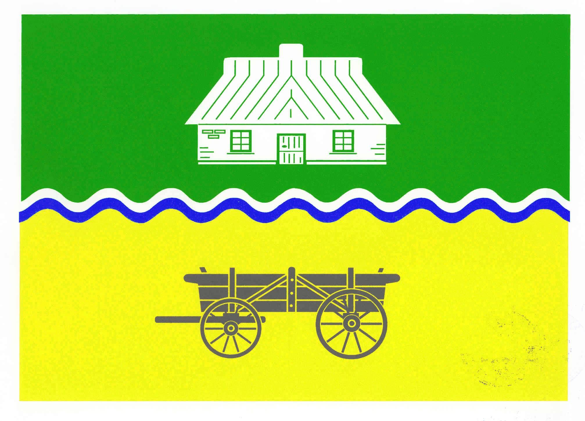 Flagge GemeindeReinsbüttel, Kreis Dithmarschen