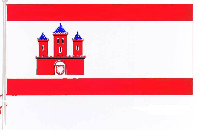 Flagge StadtRendsburg, Kreis Rendsburg-Eckernförde