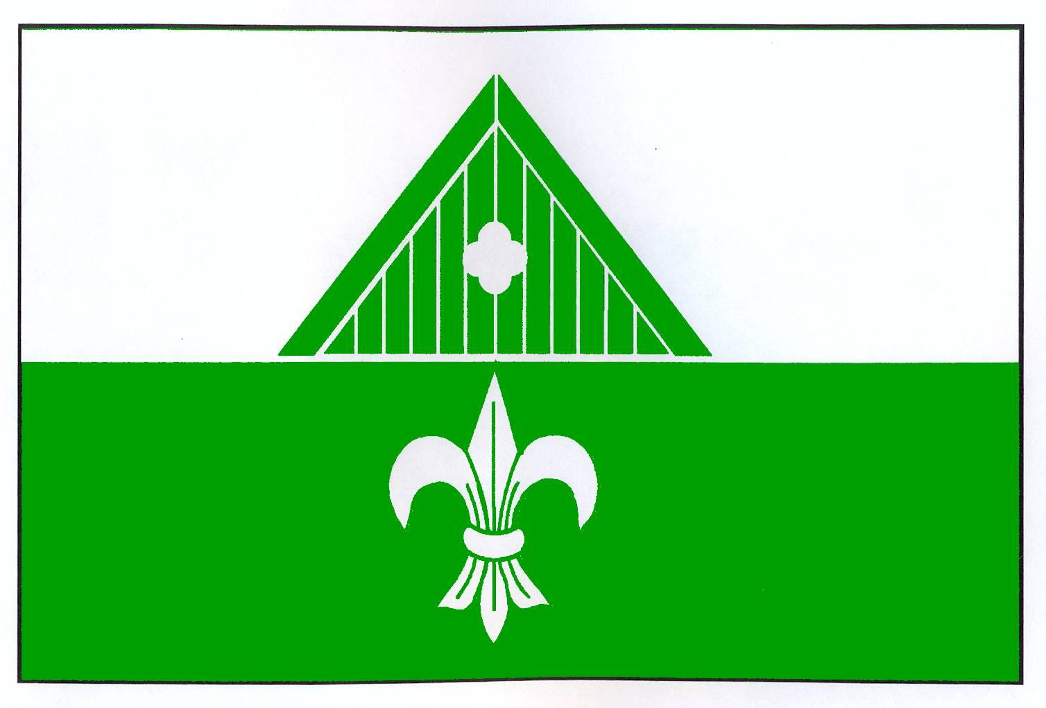 Flagge GemeindeRendswühren, Kreis Plön