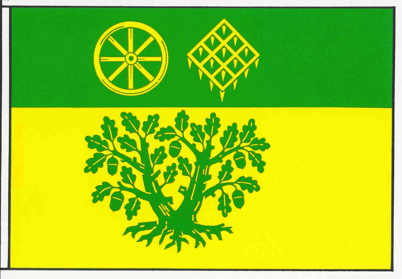 Flagge GemeindeRickert, Kreis Rendsburg-Eckernförde