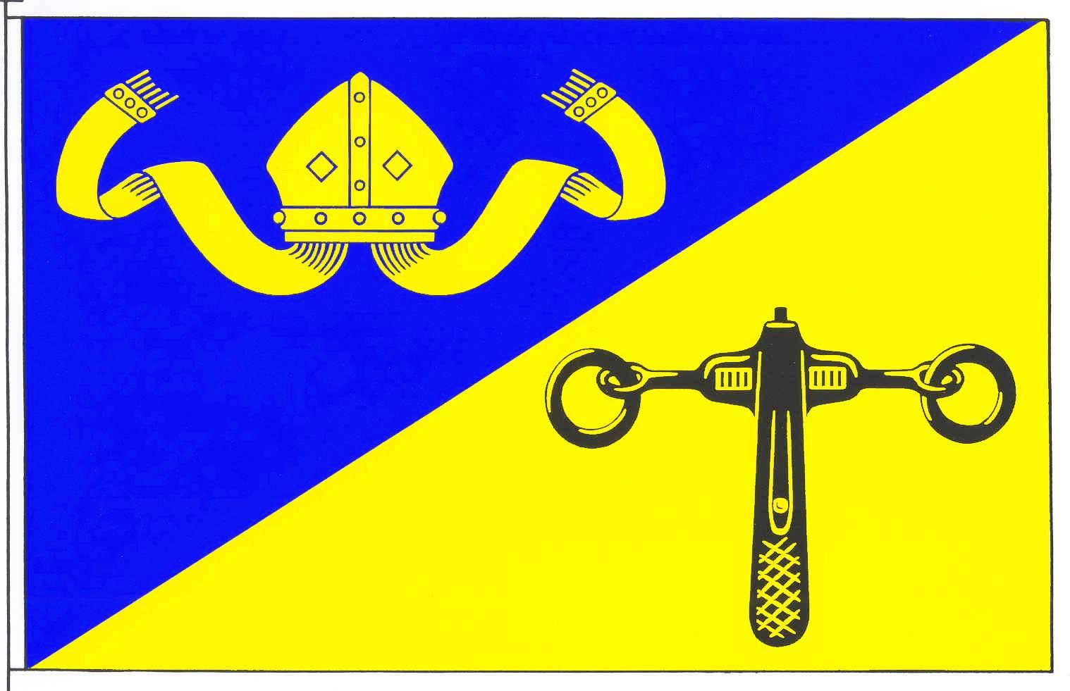 Flagge GemeindeRieseby, Kreis Rendsburg-Eckernförde