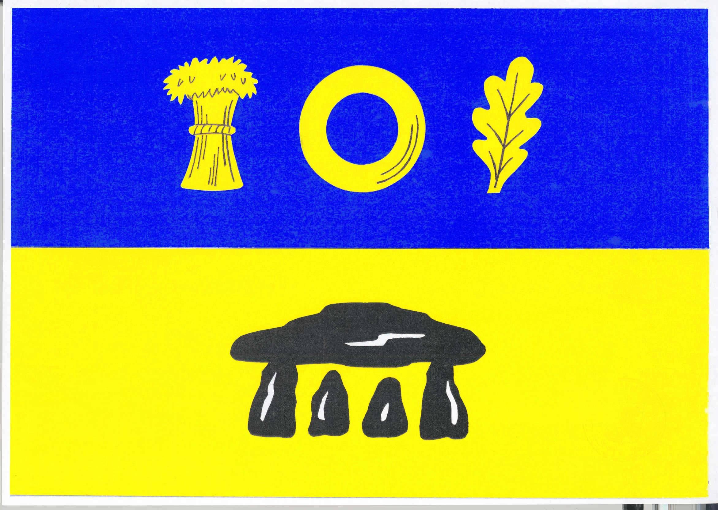 Flagge GemeindeRingsberg, Kreis Schleswig-Flensburg