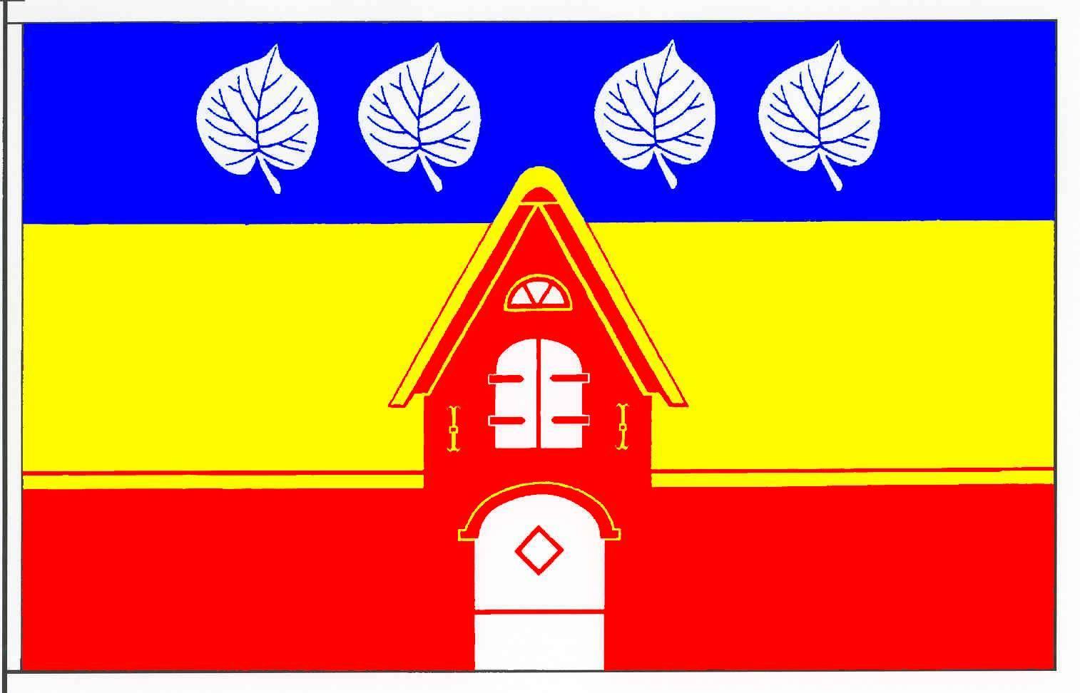 Flagge GemeindeRisum-Lindholm, Kreis Nordfriesland