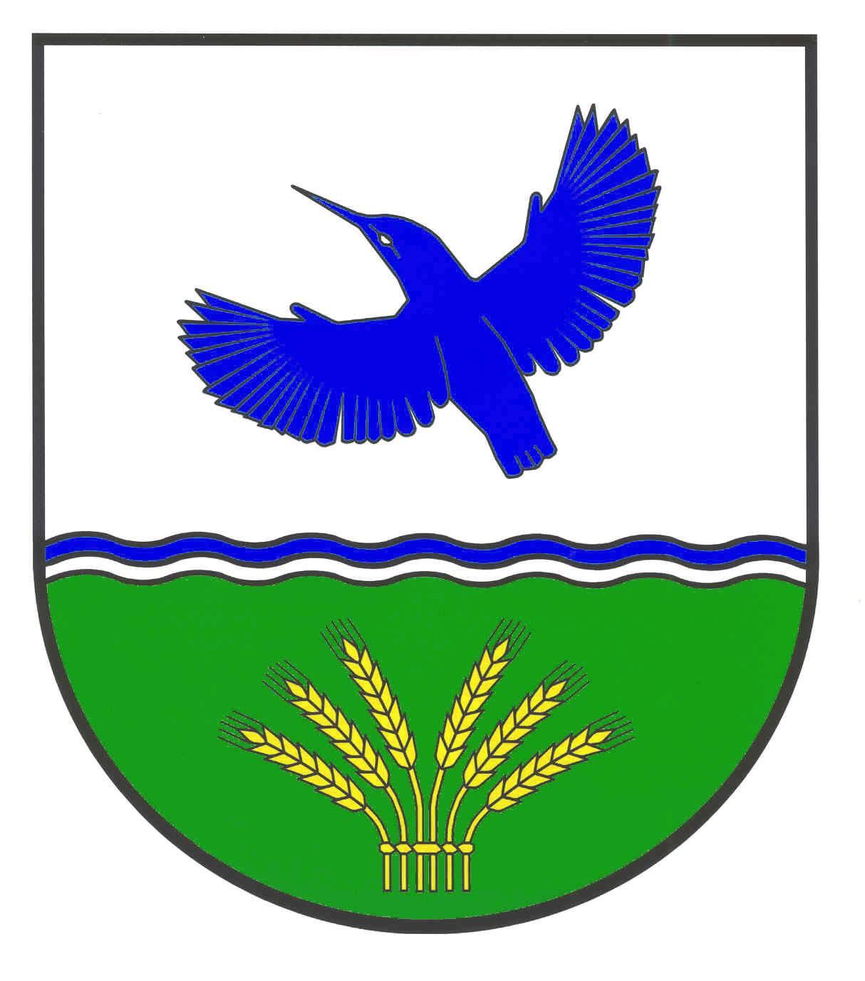 Wappen GemeindeRodenbek, Kreis Rendsburg-Eckernförde