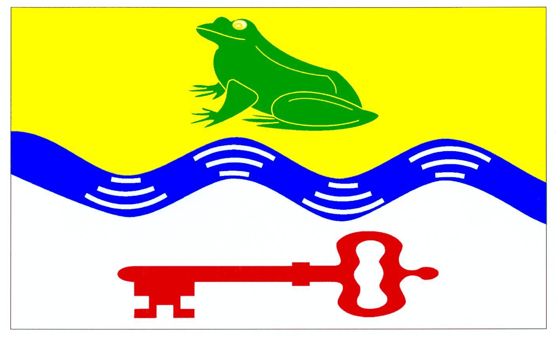 Flagge GemeindeSahms, Kreis Herzogtum Lauenburg