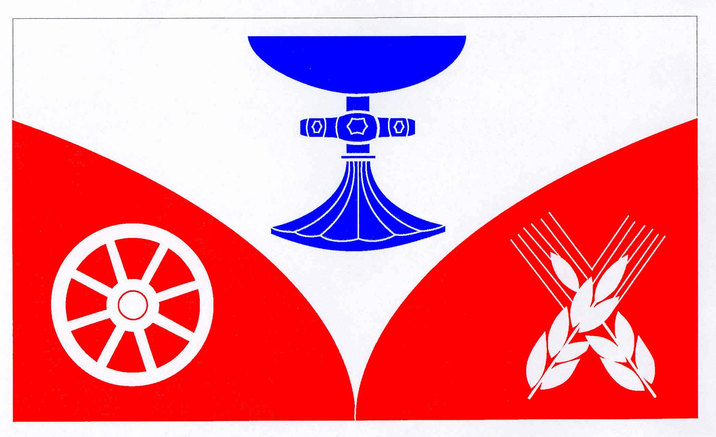 Flagge GemeindeSandesneben, Kreis Herzogtum Lauenburg