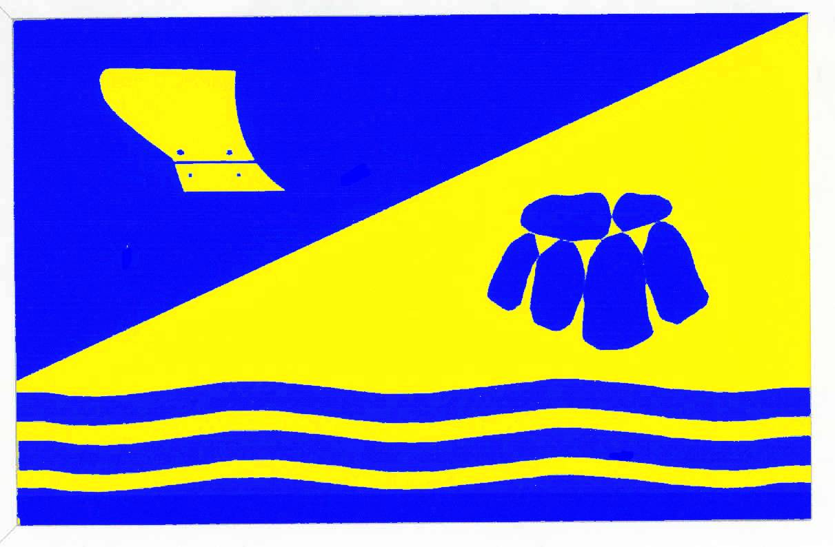 Flagge GemeindeSankelmark, Kreis Schleswig-Flensburg