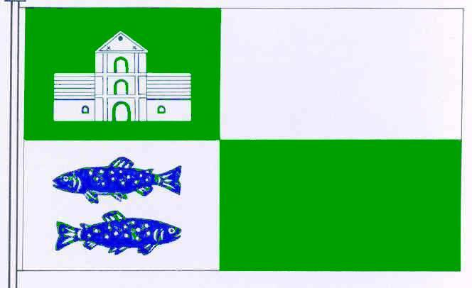 Flagge GemeindeSarlhusen, Kreis Steinburg