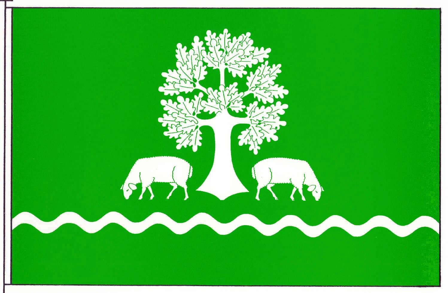 Flagge GemeindeSchafstedt, Kreis Dithmarschen