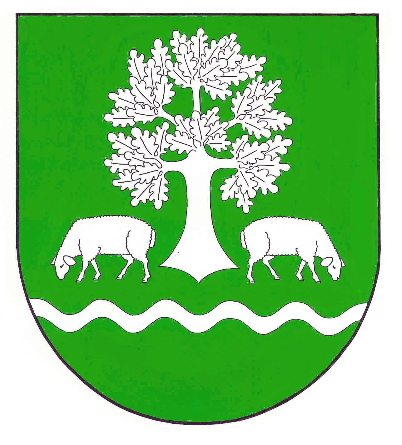 Wappen GemeindeSchafstedt, Kreis Dithmarschen