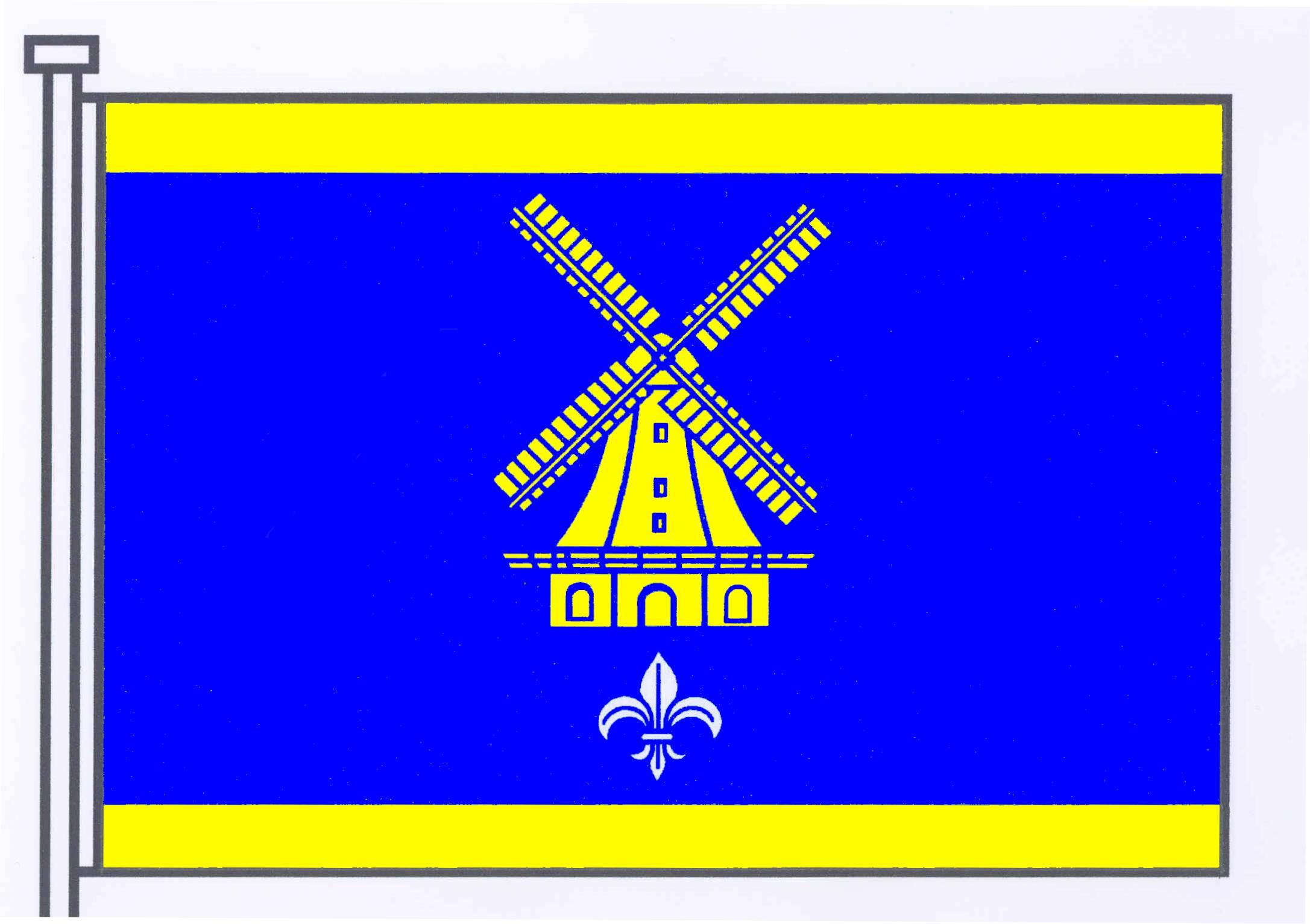 Flagge GemeindeSchashagen, Kreis Ostholstein