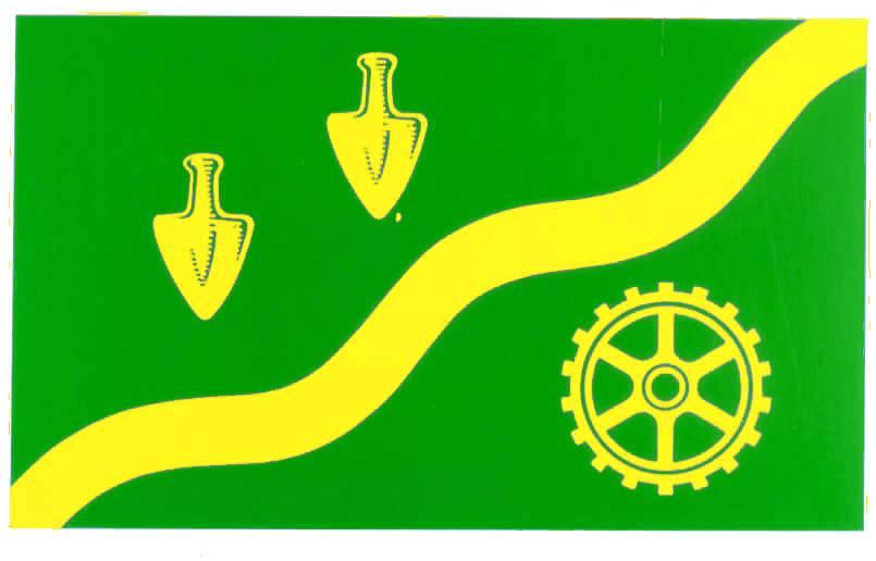 Flagge StadtSchenefeld, Kreis Pinneberg