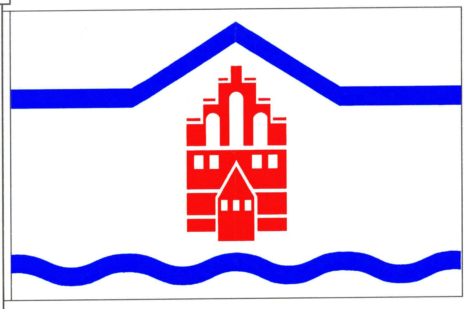Flagge GemeindeSchinkel, Kreis Rendsburg-Eckernförde