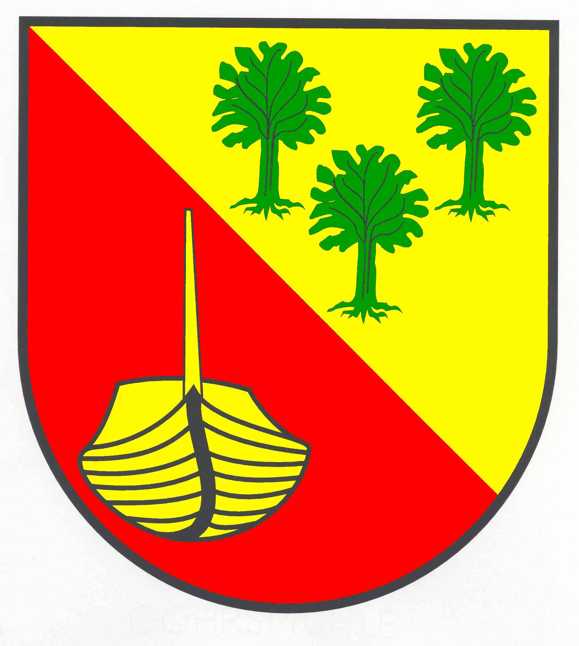 Wappen GemeindeSchiphorst, Kreis Herzogtum Lauenburg