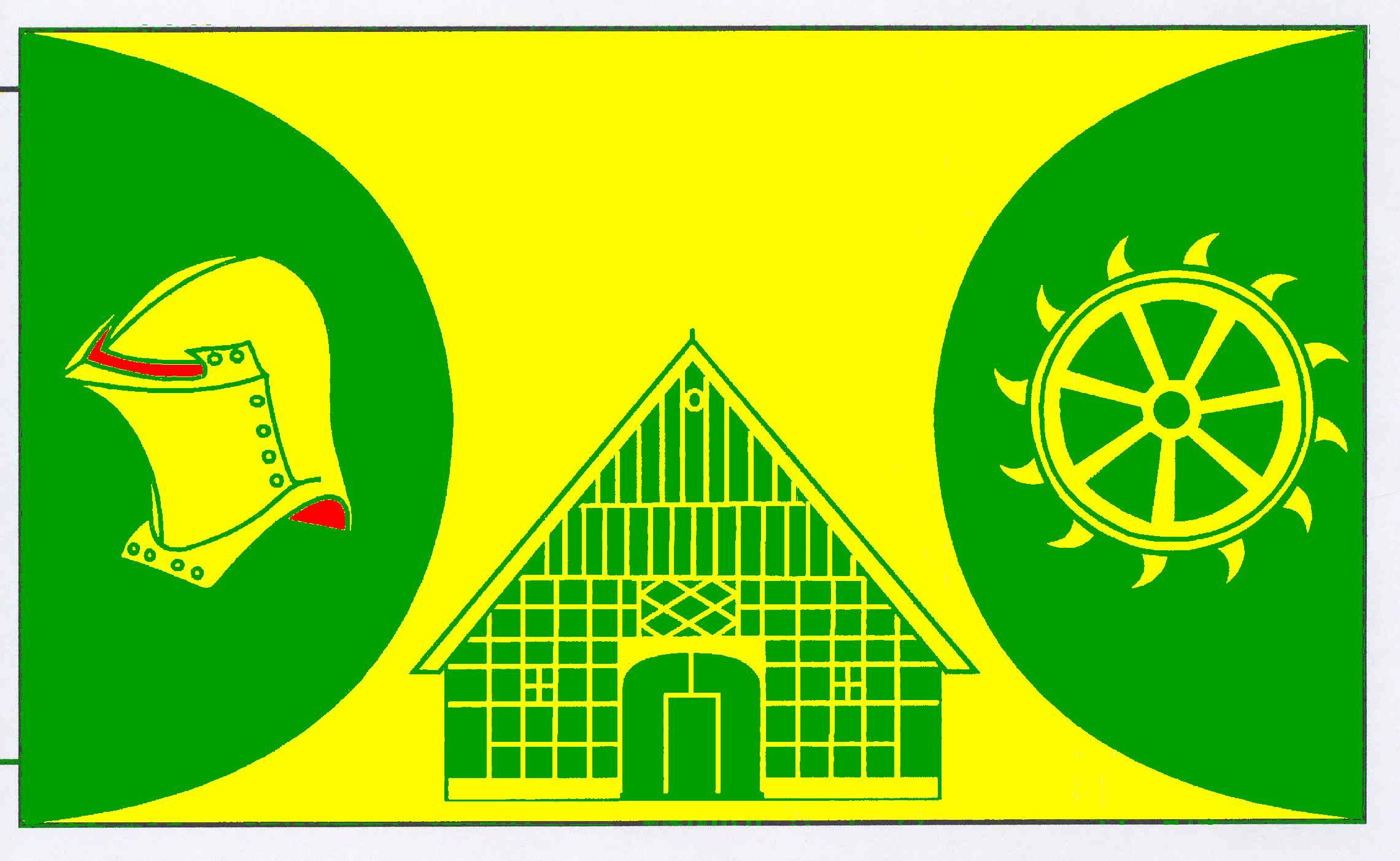Flagge GemeindeSchmalstede, Kreis Rendsburg-Eckernförde
