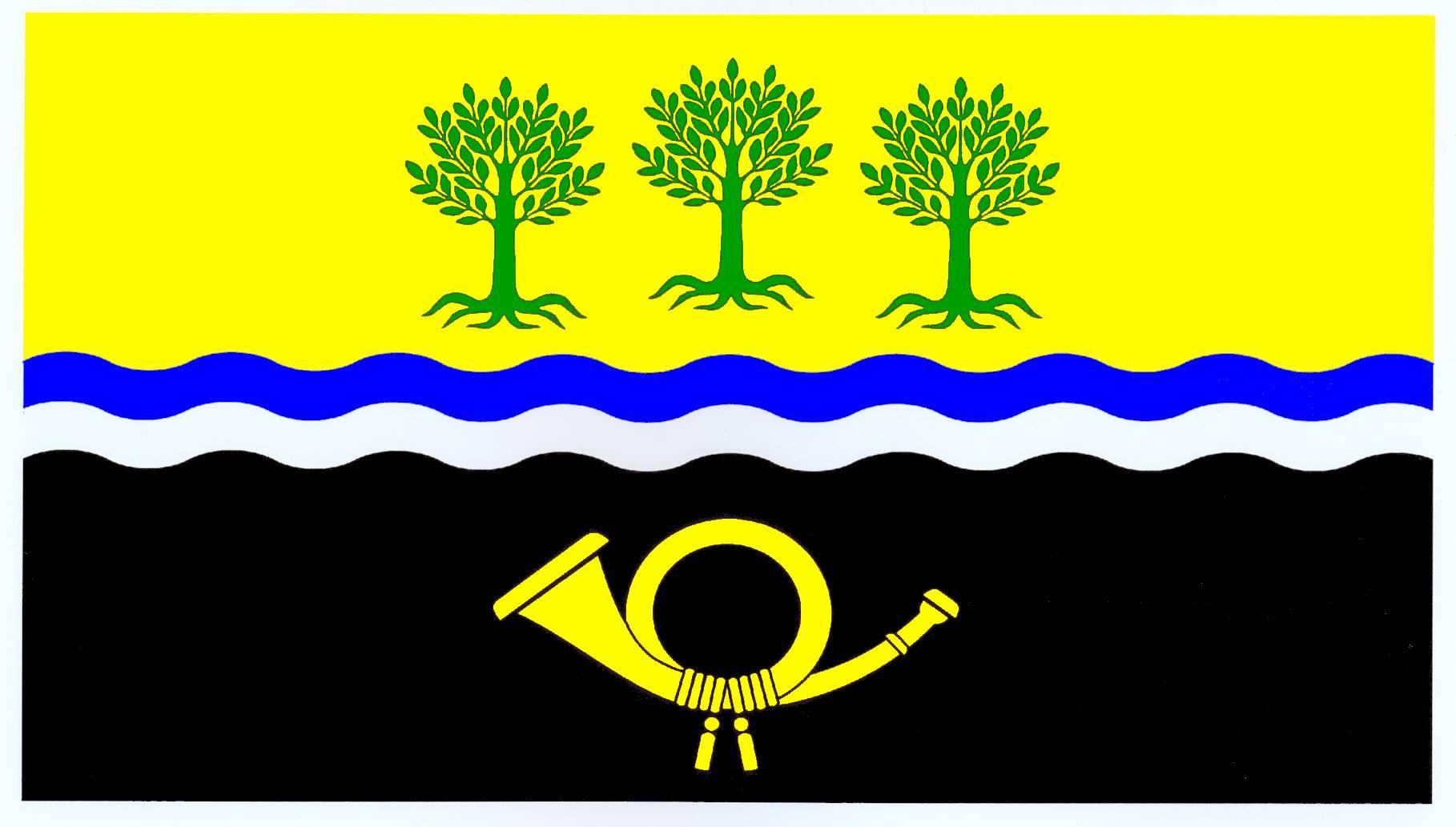 Flagge GemeindeSchönberg, Kreis Herzogtum Lauenburg