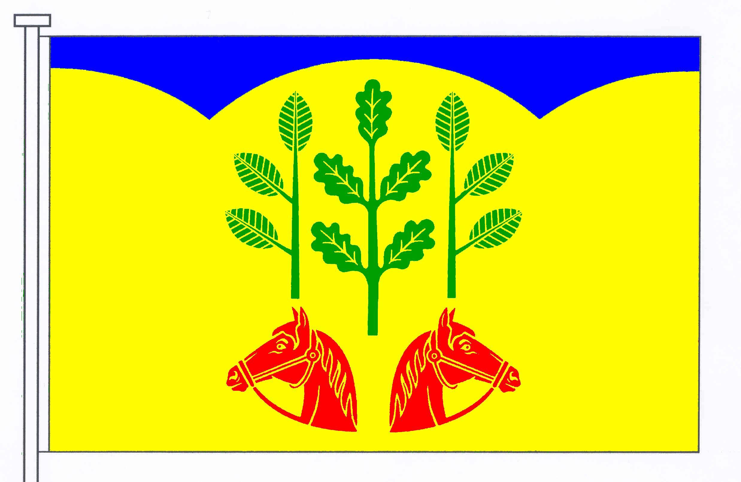 Flagge GemeindeSchönhorst, Kreis Rendsburg-Eckernförde