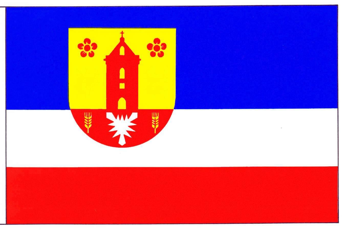 Flagge GemeindeSchönkirchen, Kreis Plön