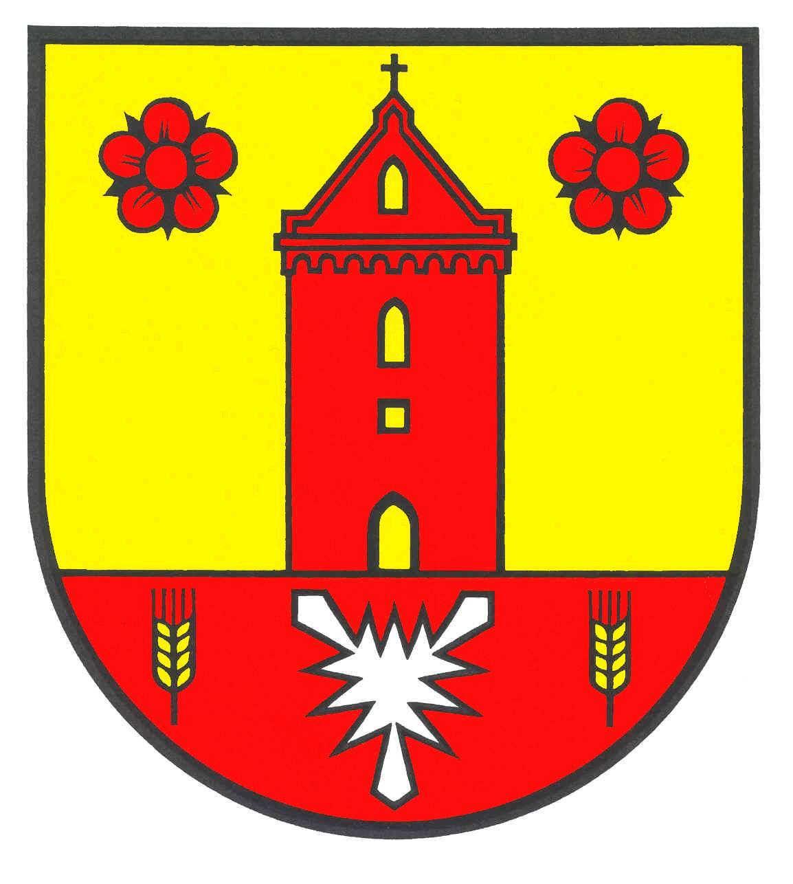 Wappen GemeindeSchönkirchen, Kreis Plön