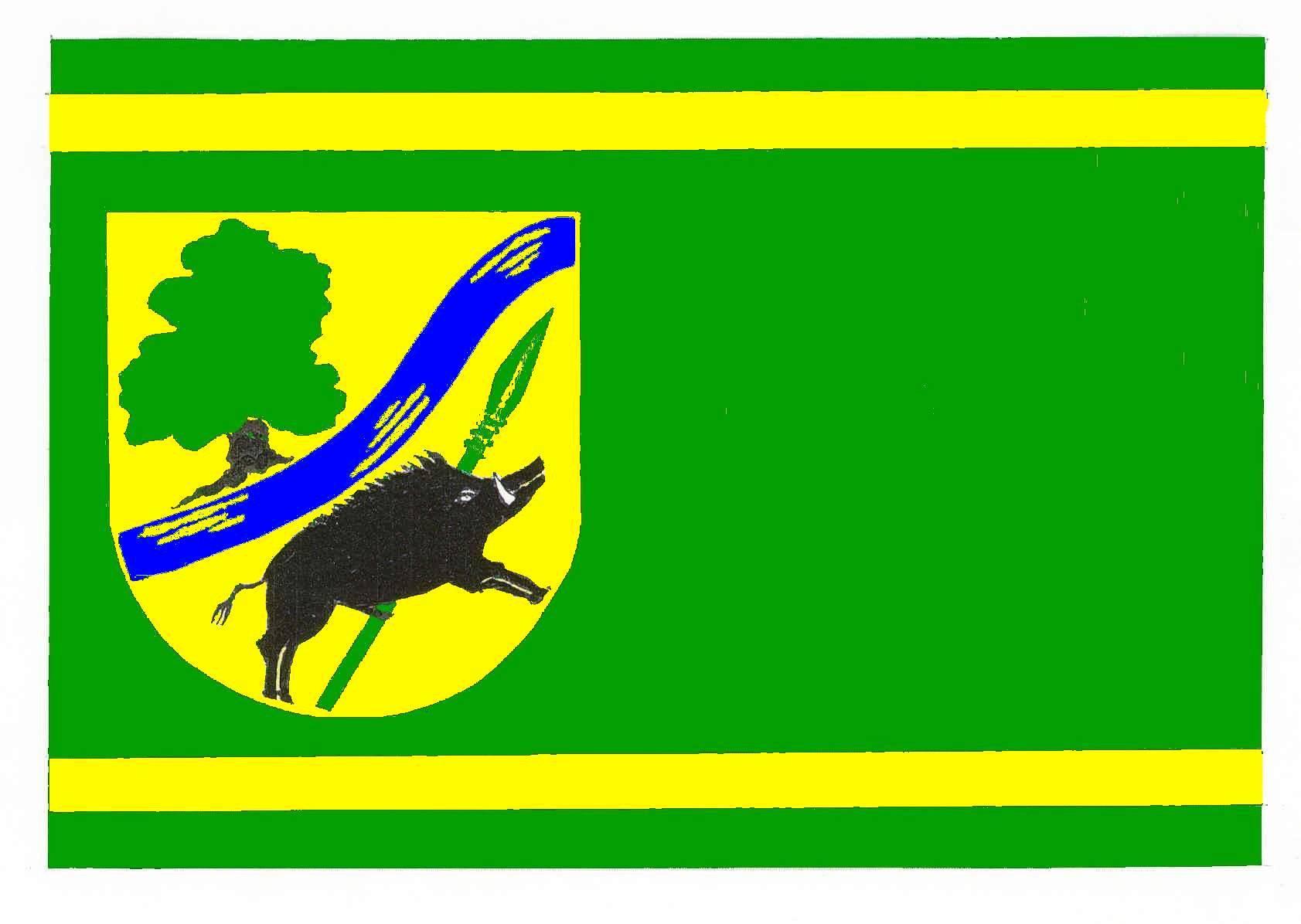 Flagge GemeindeSchretstaken, Kreis Herzogtum Lauenburg
