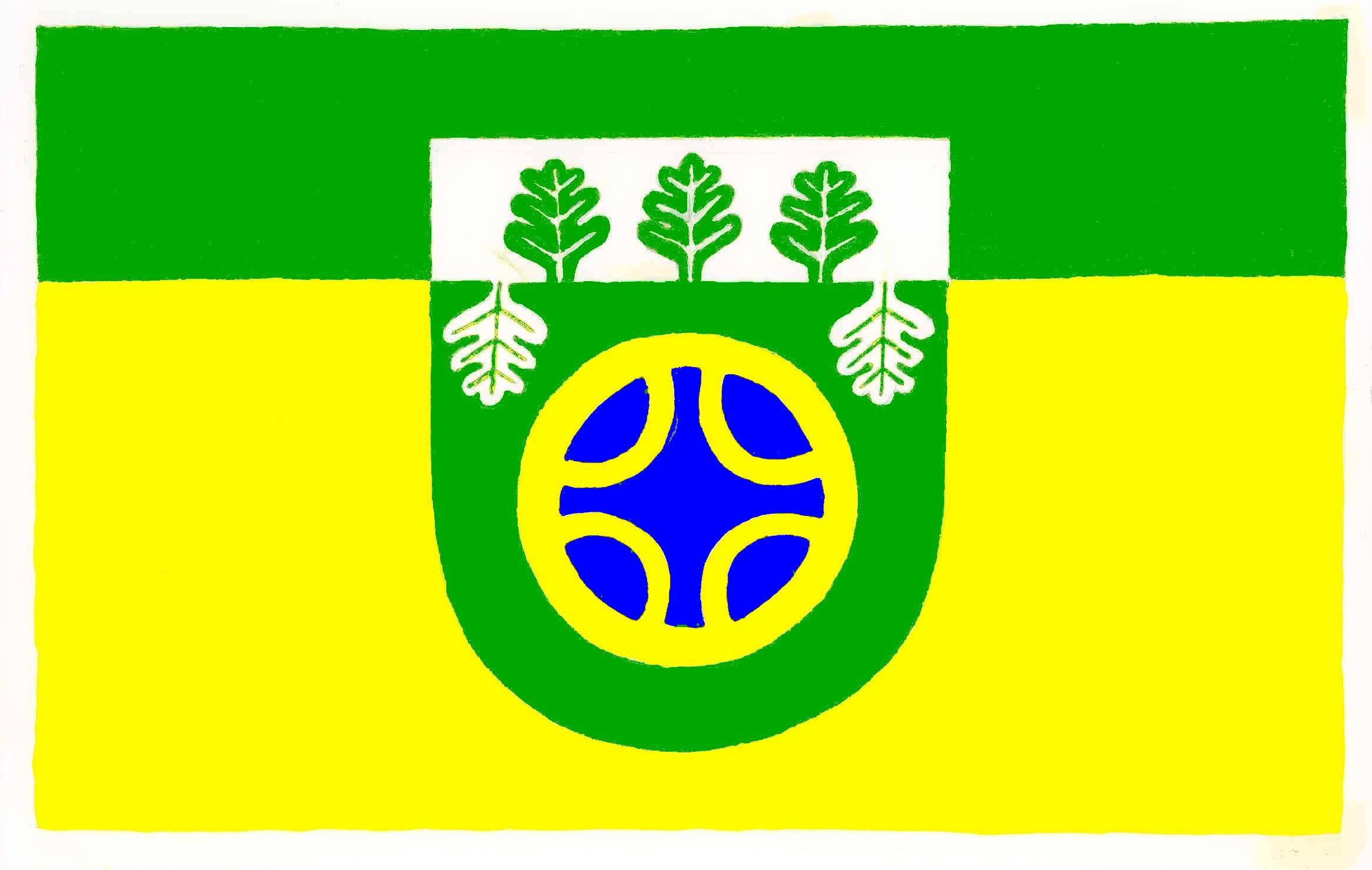 Flagge GemeindeSchuby, Kreis Schleswig-Flensburg