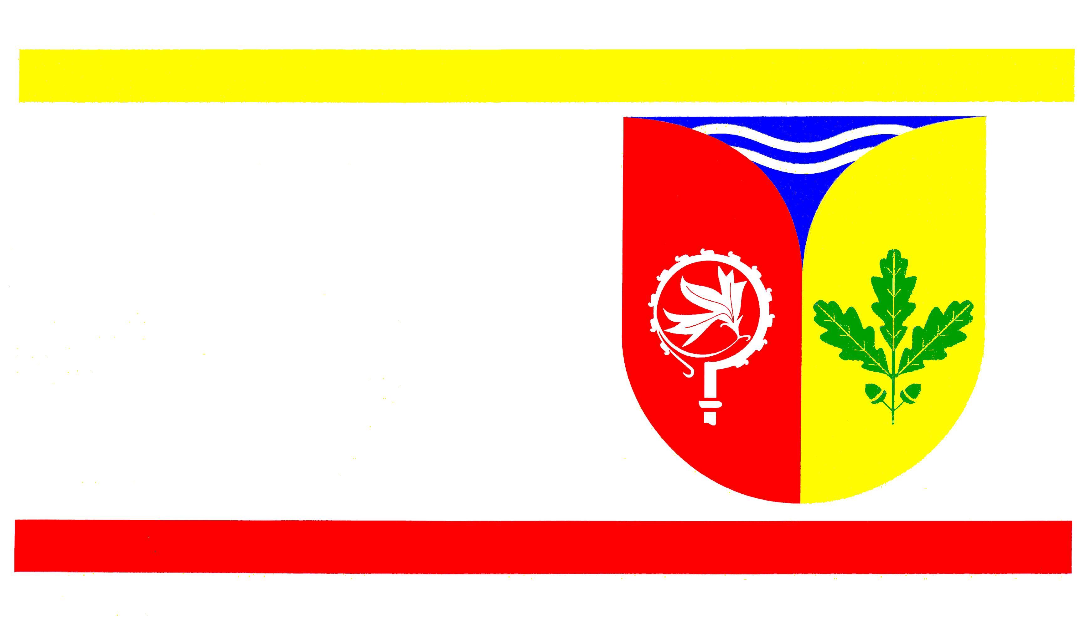 Flagge StadtSchwentinental, Kreis Plön