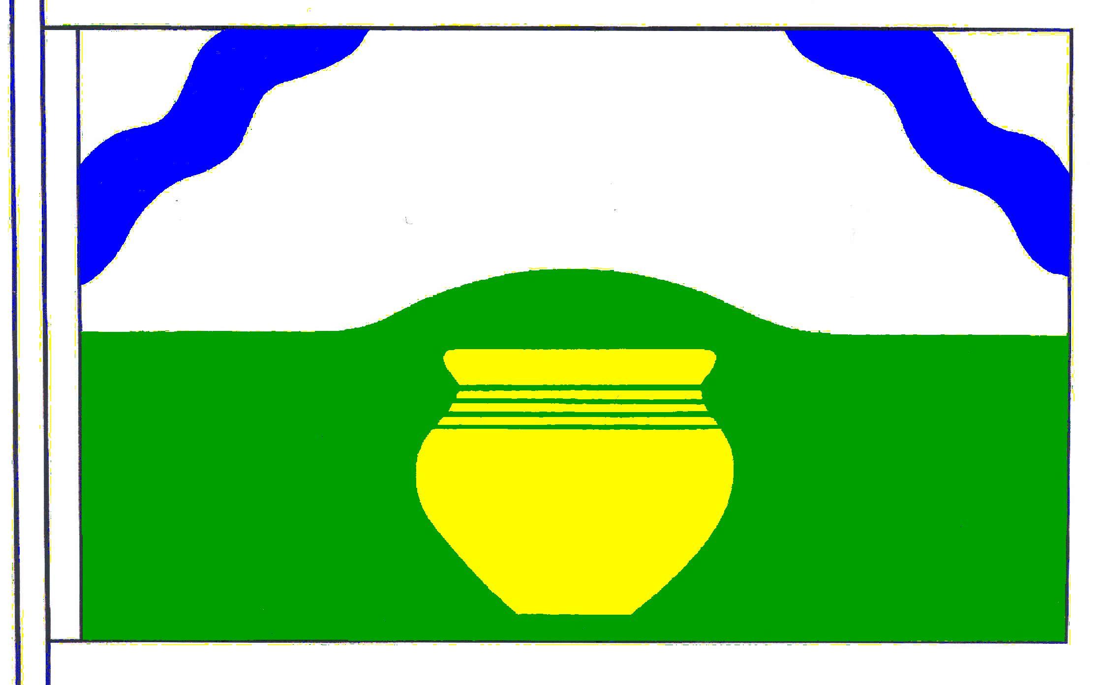 Flagge GemeindeSchwissel, Kreis Segeberg