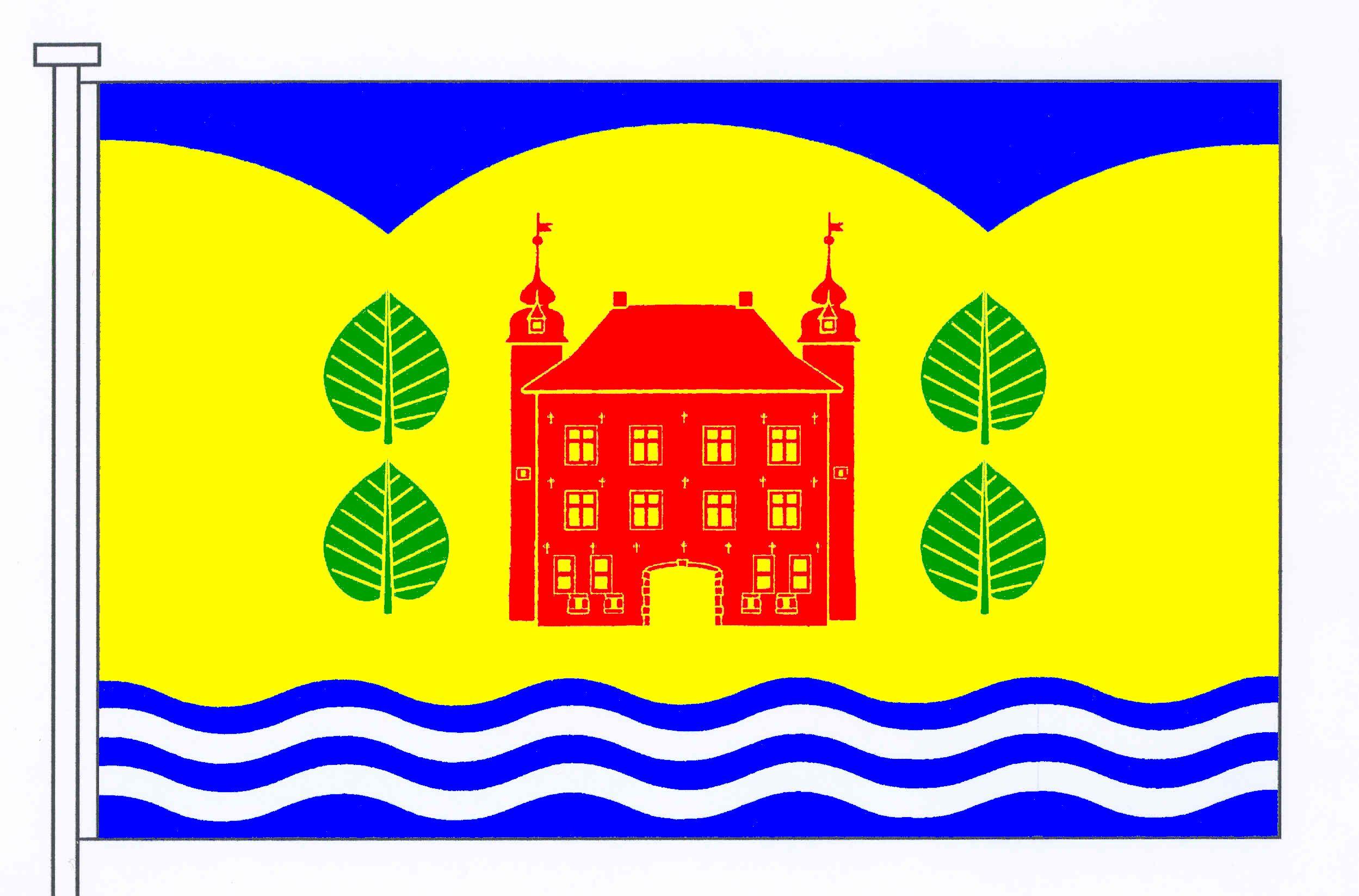 Flagge GemeindeSeedorf, Kreis Segeberg