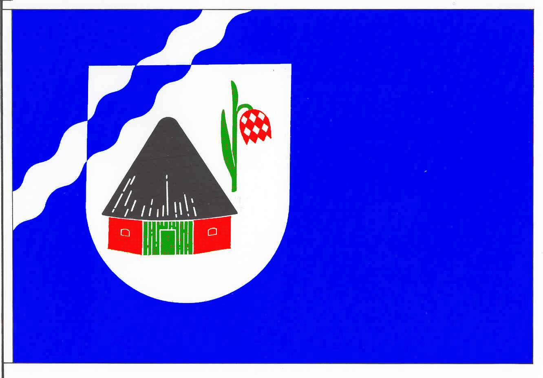 Flagge GemeindeSeestermühe, Kreis Pinneberg