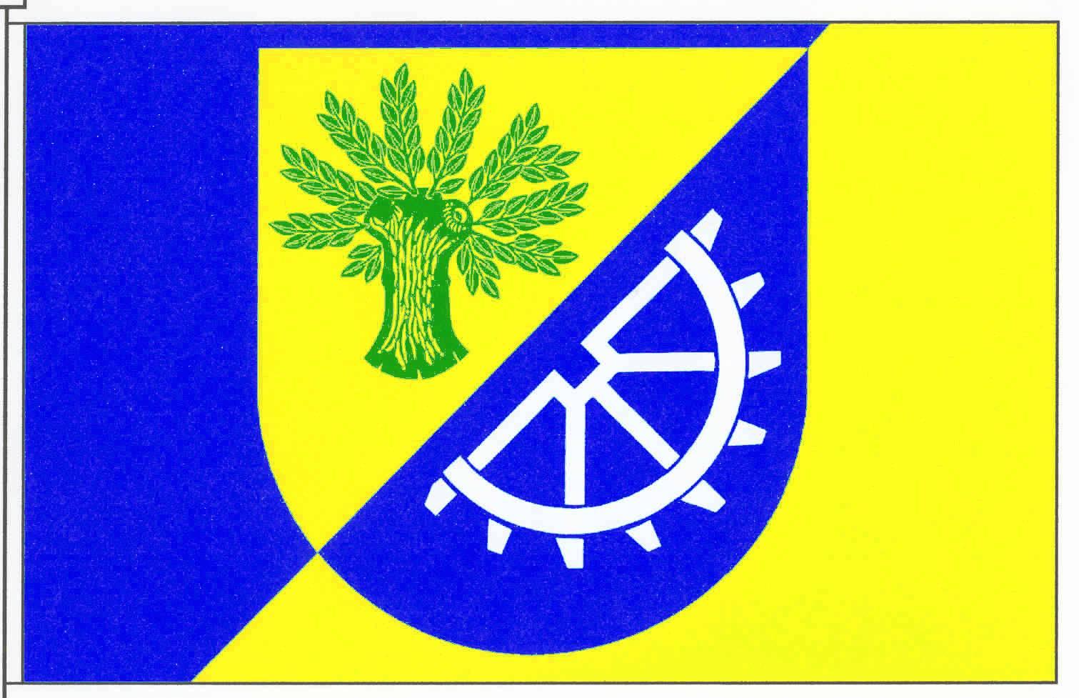 Flagge GemeindeSelk, Kreis Schleswig-Flensburg