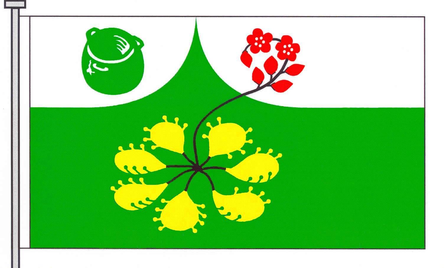 Flagge GemeindeSeth, Kreis Segeberg