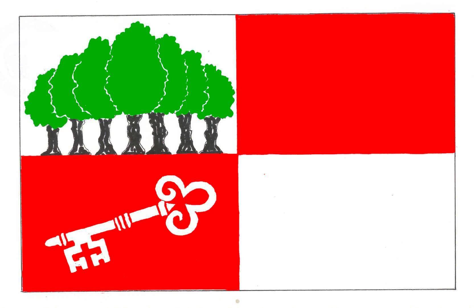 Flagge GemeindeSiebenbäumen, Kreis Herzogtum Lauenburg