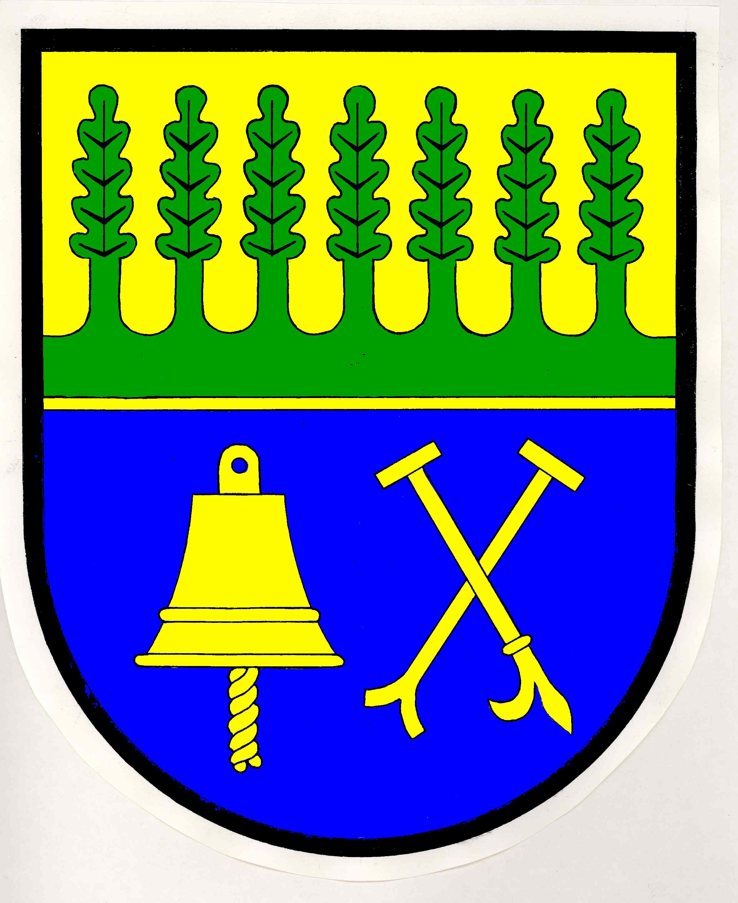 Wappen GemeindeSiebeneichen, Kreis Herzogtum Lauenburg