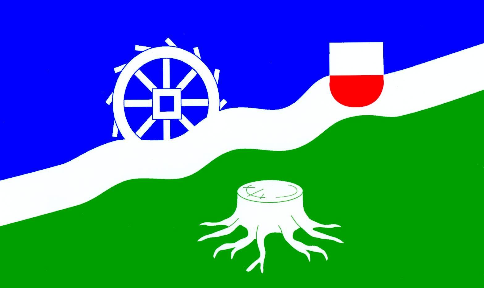 Flagge GemeindeSierksrade, Kreis Herzogtum Lauenburg