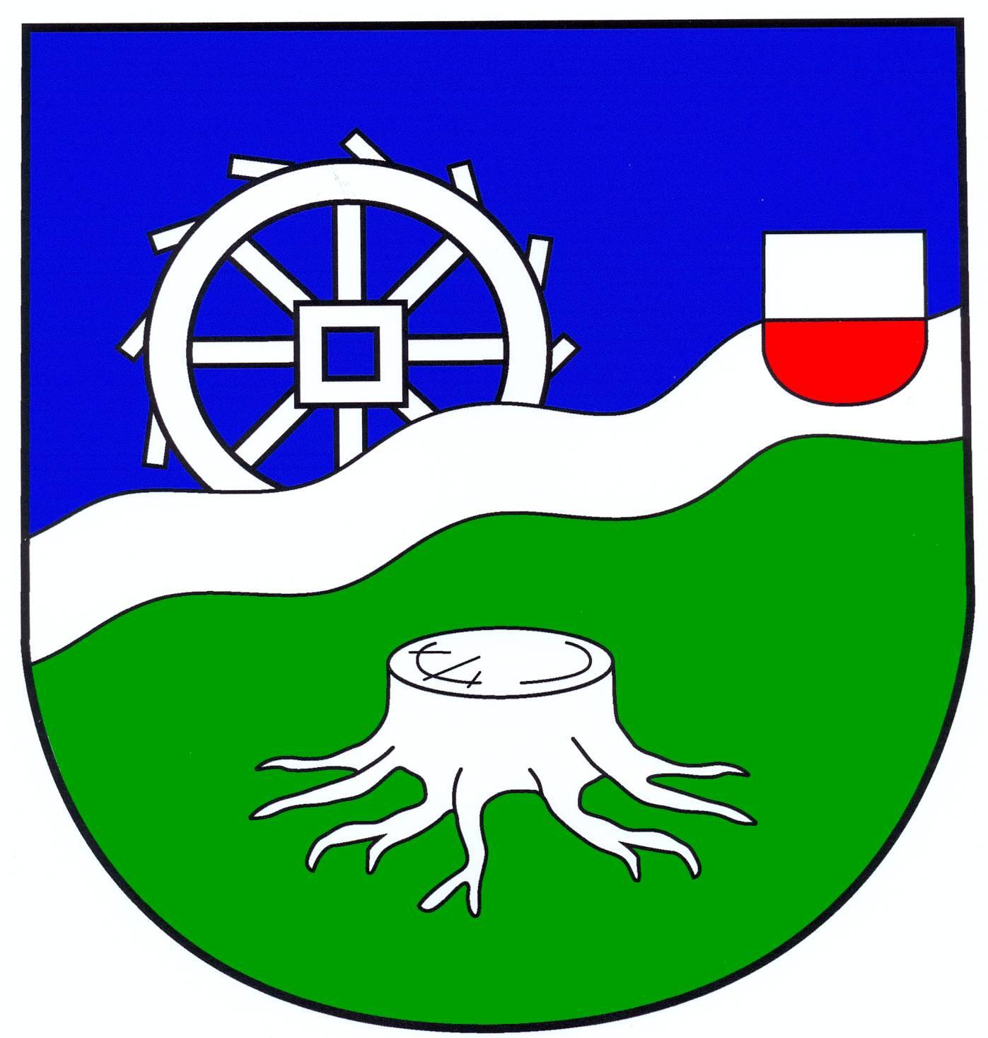 Wappen GemeindeSierksrade, Kreis Herzogtum Lauenburg