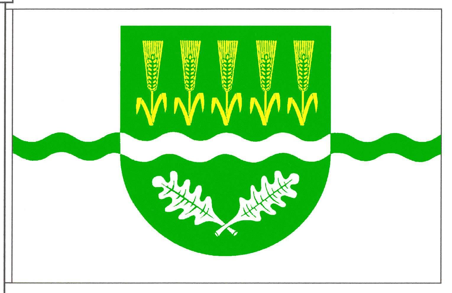 Flagge GemeindeSilberstedt, Kreis Schleswig-Flensburg