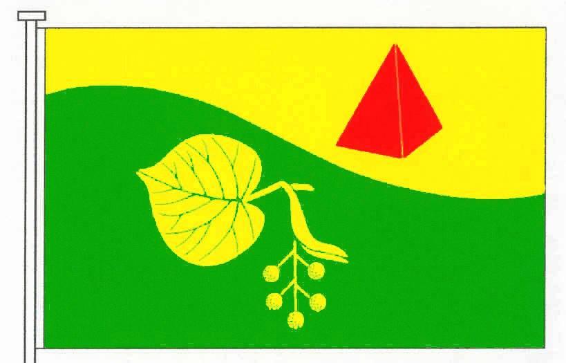 Flagge GemeindeSilzen, Kreis Steinburg