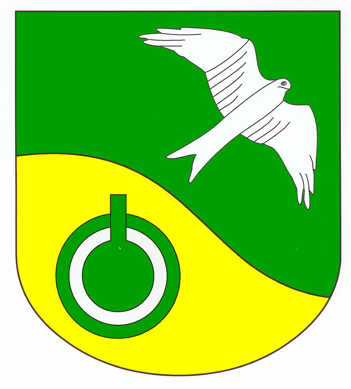 Wappen GemeindeSirksfelde, Kreis Herzogtum Lauenburg